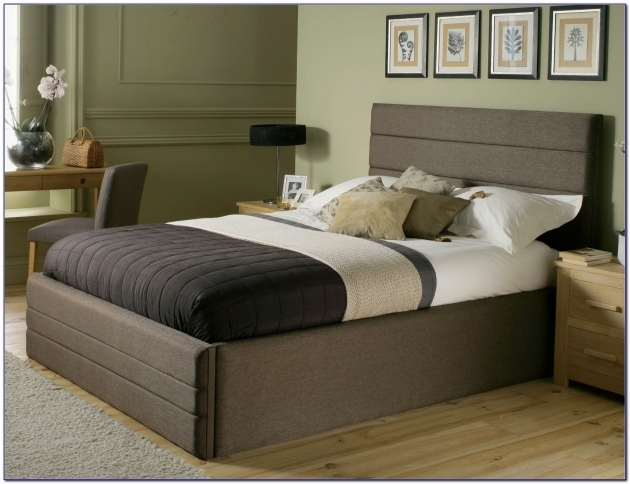Bed Frame With Headboard King Size Bed Frame With Headboard Storage Bedroom Pics 50