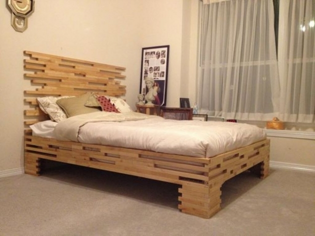 Bed Frame With Headboard Twin Size Photos 17