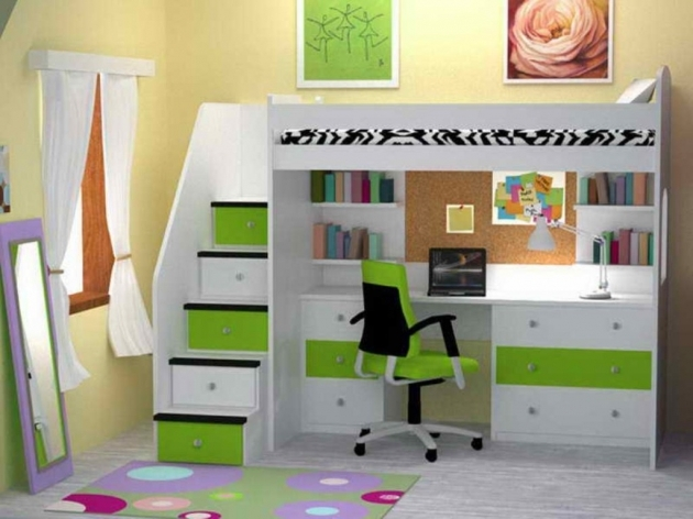 Bunk Bed With Desk Awesome Loft Bunk Bed Pictures 42