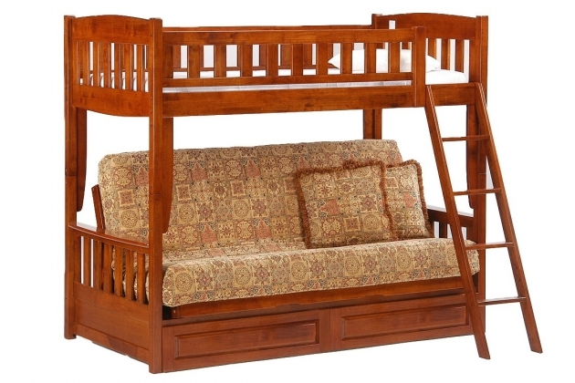 Futon Bunk Bed Cinnamon Futon Bunk Cherry Pictures 62