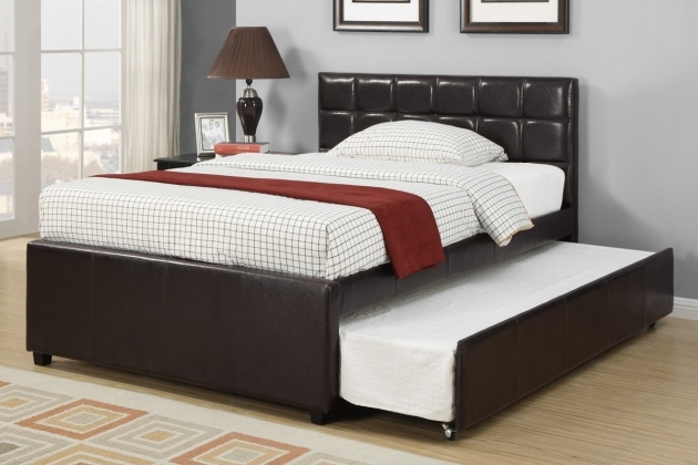 Headboards For Full Size Beds Black Leather Full Size Bed Frame With Trundle And Padded Headboard Pics 32