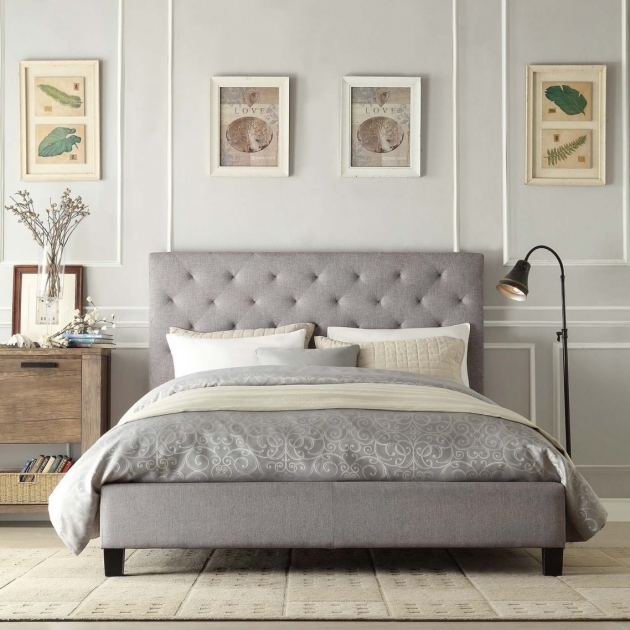 Headboards For Full Size Beds Furniture Headboard With Storage Chic Queen Size Bed Full Size Headboards Having Grey Framing Design Pictures 20