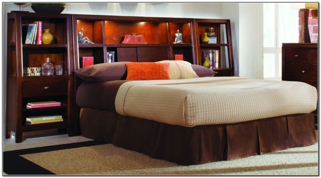 Headboards For Full Size Beds King Size Storage Bed With Bookcase Headboard Pic 18