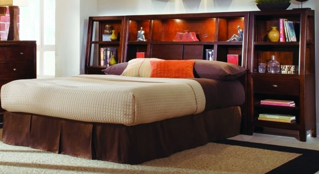 Headboards For Full Size Beds Style Full Size Bookcase Headboard Pictures 11
