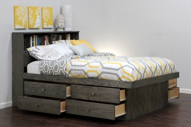 Platform Bed With Storage Full Photos 68