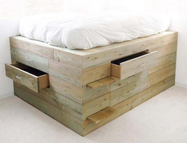 Platform Bed With Storage With Drawers Diy Picture 71