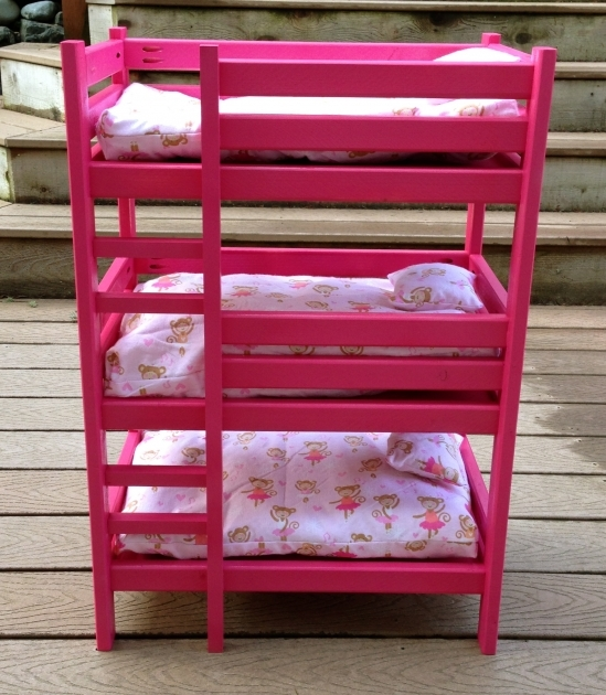Triple Bunk Bed For Doll Diy Projects Pic 11