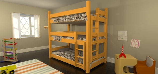 Triple Bunk Bed Maine Bunk Beds Announces Launch Of New Triple Bunk Bed Image 44