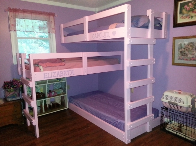 Triple Bunk Bed Plans Small Ideas Pics 81