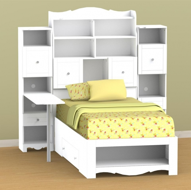 Twin Bed With Storage With Headboard Ideas Photos 86