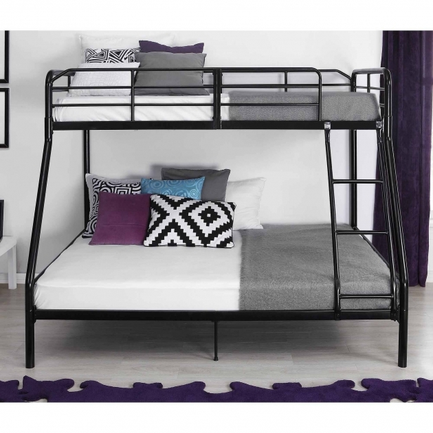 Twin Over Full Bunk Bed Metal Pic 37