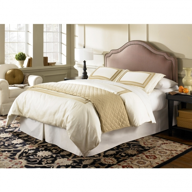 Upholstered Headboard Queen Fashion Bed Saint Marie Full Size Photo 45