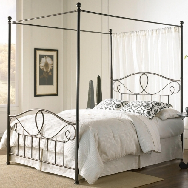 Antique Metal Headboards For Double Bed Photos 88