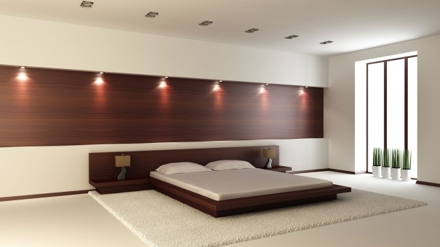 Asian Platform Bed Home Design Minimalist Bedroom Pictures 06
