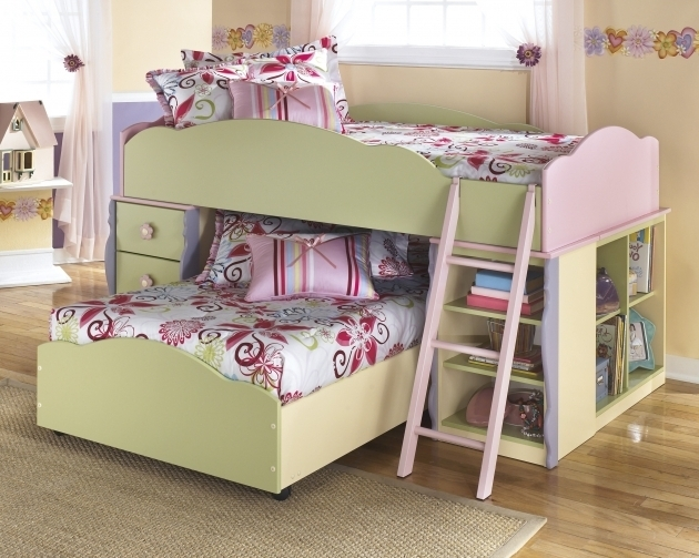 Bedroom Loft Ideas Home Design With Low Ceiling Bunk Beds  Images 35