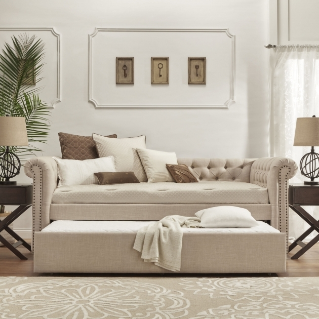 Best Daybed With Trundle Furniture White Picture 38