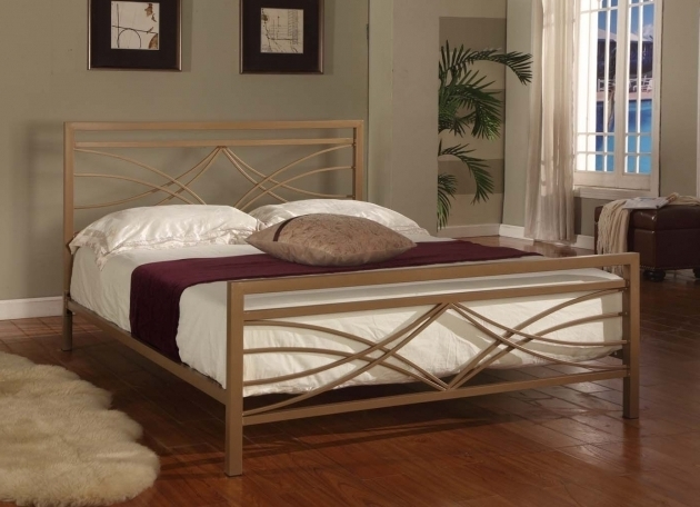 Best King Metal Bed Frame Headboard Footboard Photo 26