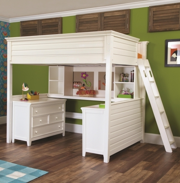 Bunk Bed With Table Underneath And Storage Pretty Design Ideas Pictures 46