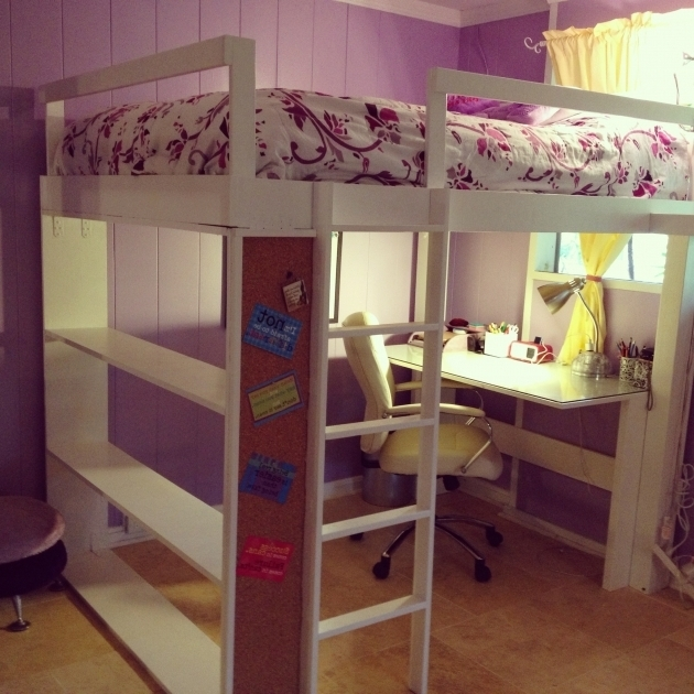 Bunk Bed With Table Underneath Furniture Ideas For Children Bedroom Images 09