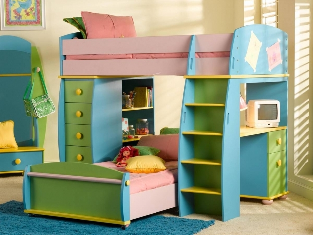 Bunk Beds For Kids With Desk Photo 87