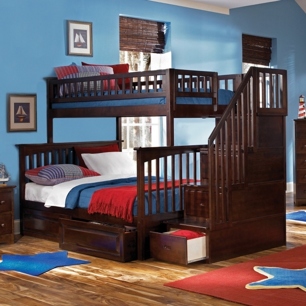 Bunk Beds With Stairs For Teenagers Images 74