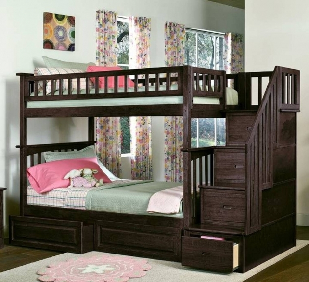 Bunk Beds With Stairs Top Furniture Home Design Ideas Pictures 71