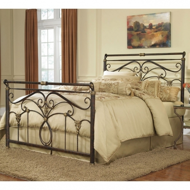 Decorative Metal Headboards For Double Bed King  Picture 84