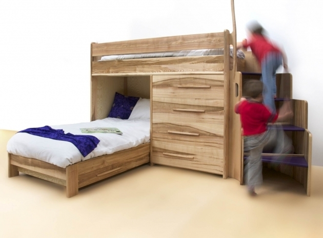 Designer Kids Low Ceiling Bunk Beds In Ash By Furniture Daniel Lacey Picture 36