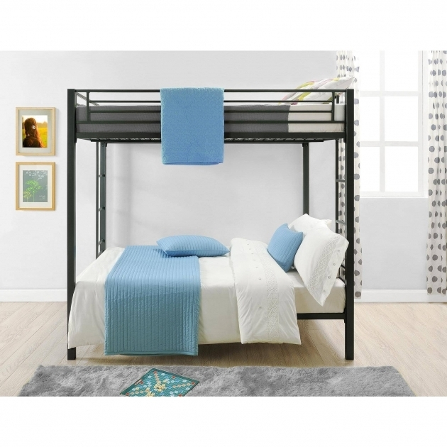 Dorel Twin Over Full Metal Bunk Bed Multiple Colors Finishes Image 15