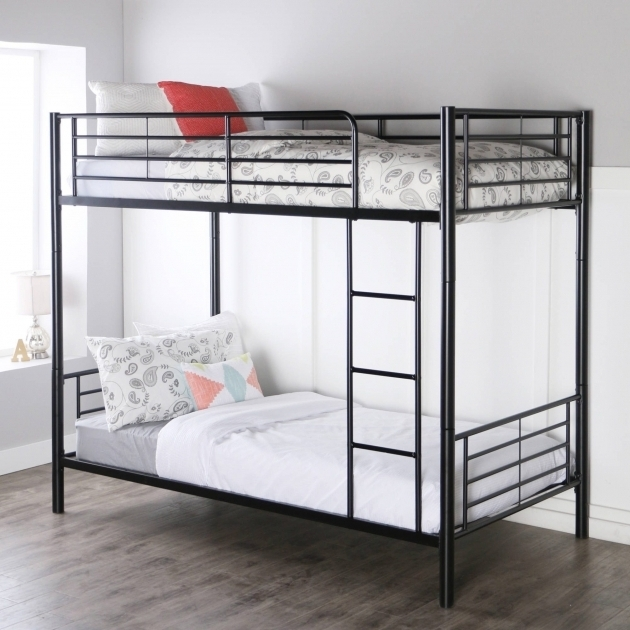 Dorel Twin Over Full Metal Bunk Bed Multiple Colors Simple Design Image 33