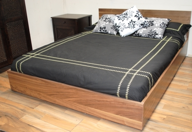 Double Size White Laminated Low ProfileCheap Platform Bed Frame Queen With Twin Modern Design Ideas Photo 79