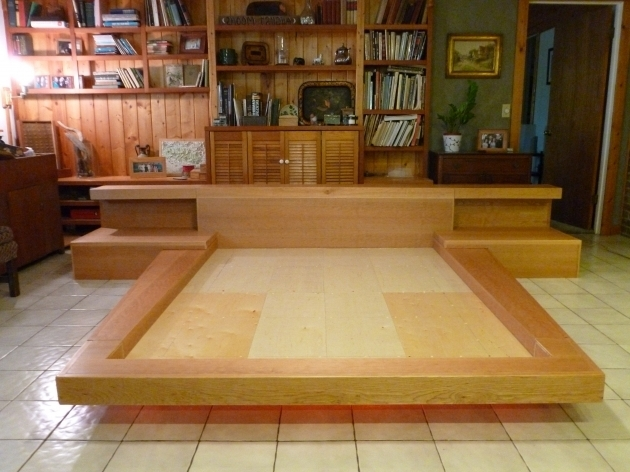 Handmade Asian Platform Bed Contemporary Wood Platform Beds Image 20