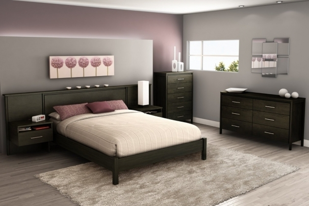 Diy Platform Bed With Headboard With Nightstand Attached