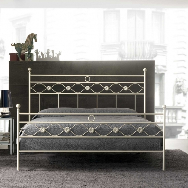 Italian Furniture Classic Incanto Wrought Iron Metal Headboards For Double Bed For Bedroom Photos 13