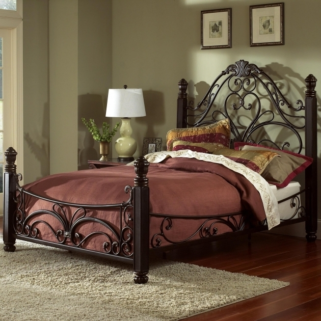 Largo King Metal Bed Frame Headboard Footboard Diana Bed Ivan Smith Furniture Image 26