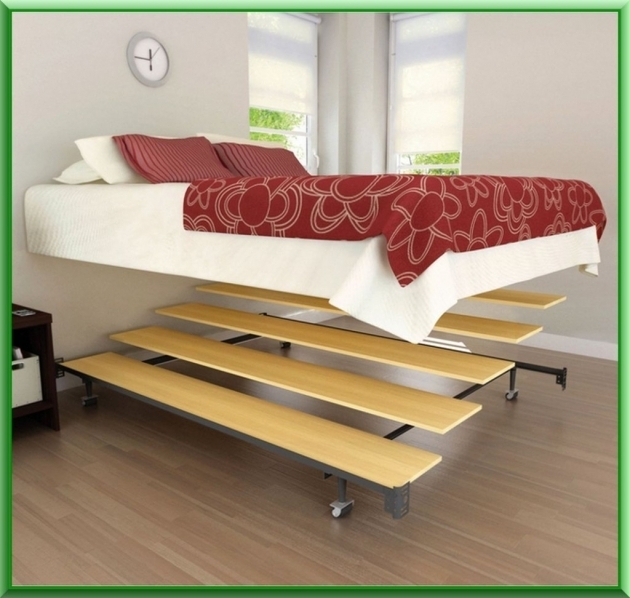 Metal Modern Cheap Platform Bed Frame Queen Image 19