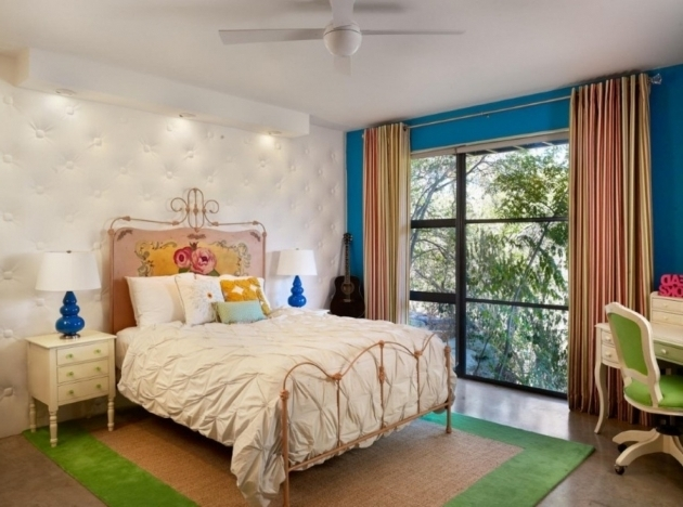 Small Retro Rustic Metal Bed Frames Bedroom With Vintage