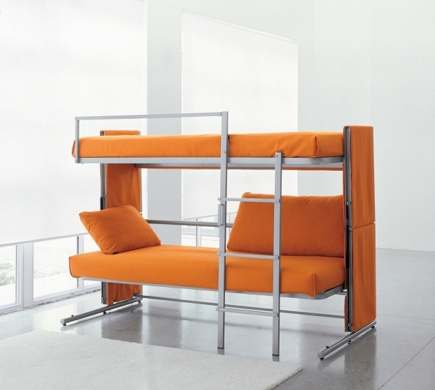 Sofa Bunk Bed That Converts In To A Bunk Bed In Two Secounds Picture 47