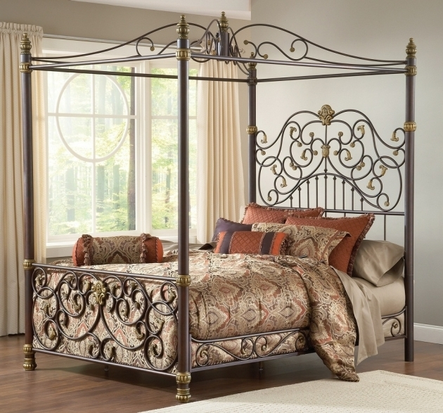 Stylish Metal Headboards For Double Bed King Size Image 26