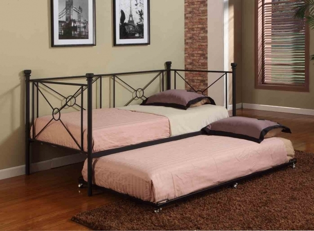Total Fab Twin Bed Daybeds Under $200 With Pull Outslide Out Trundle Bed Picture 44