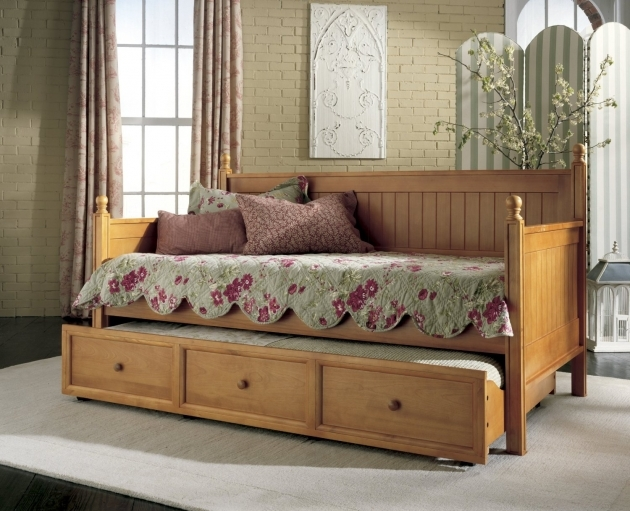 Twin Daybed With Trundle And Mattress Photos 19