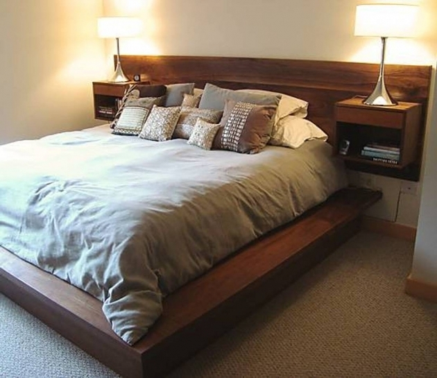 Headboard With Nightstand Attached Bed Amp Headboards