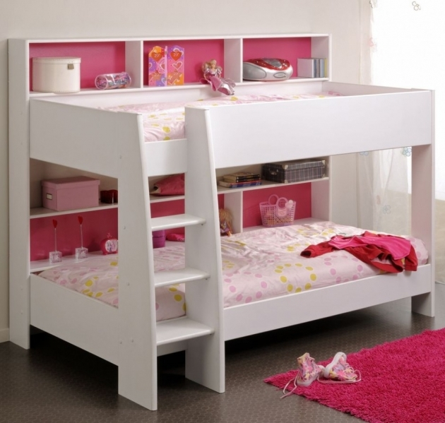 White Small Bunk Beds For Kids Images 54