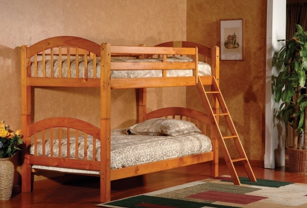 Wooden Bunk Beds With Stairs Pictures 46
