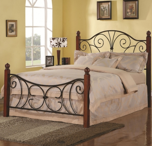 Wrought Iron Headboard Queen Ideas Bed Designs Photo 90