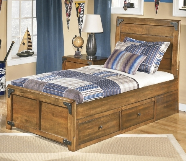 Build Twin Platform Bed Frame With Storage Wooden Ideas Pictures 67