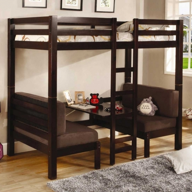 Bunk Bed With Only Top Bunk Double Futon Images 65