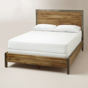 Queen Platform Bed Frame with Headboard