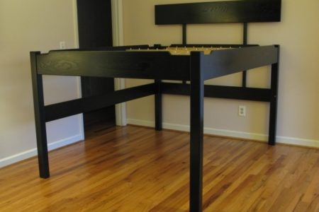 Tall Platform Bed Frame