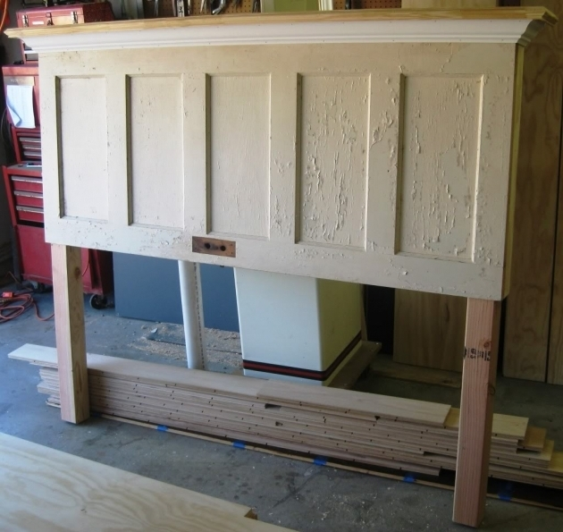 Headboard Made From A Door Ideas Pictures 75